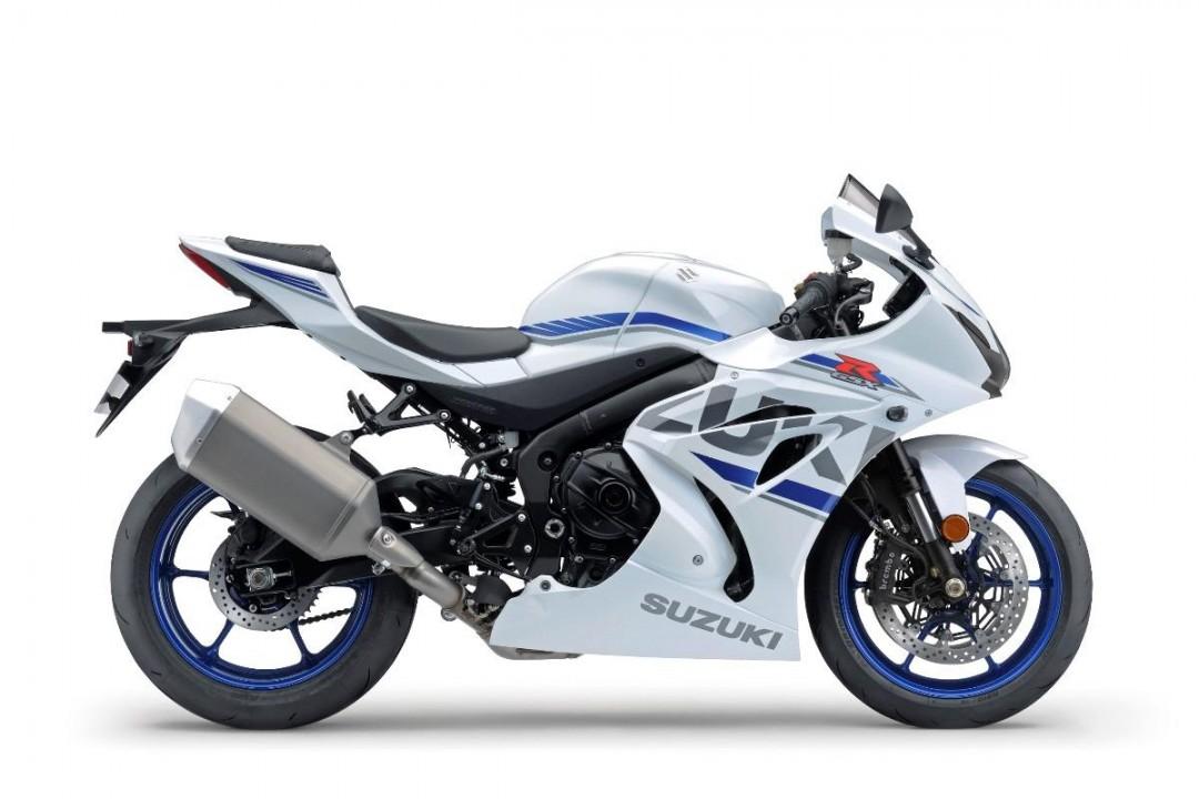 GSX-R1000 WHITE