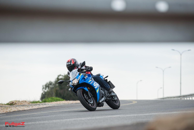 הכניסה של סוזוקי לסגמנט אופנועי הספורט A1