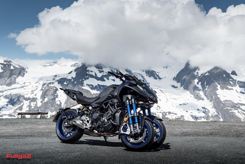 ימאהה NIKEN - האופנוע התלת-גלגלי הראשון בעולם