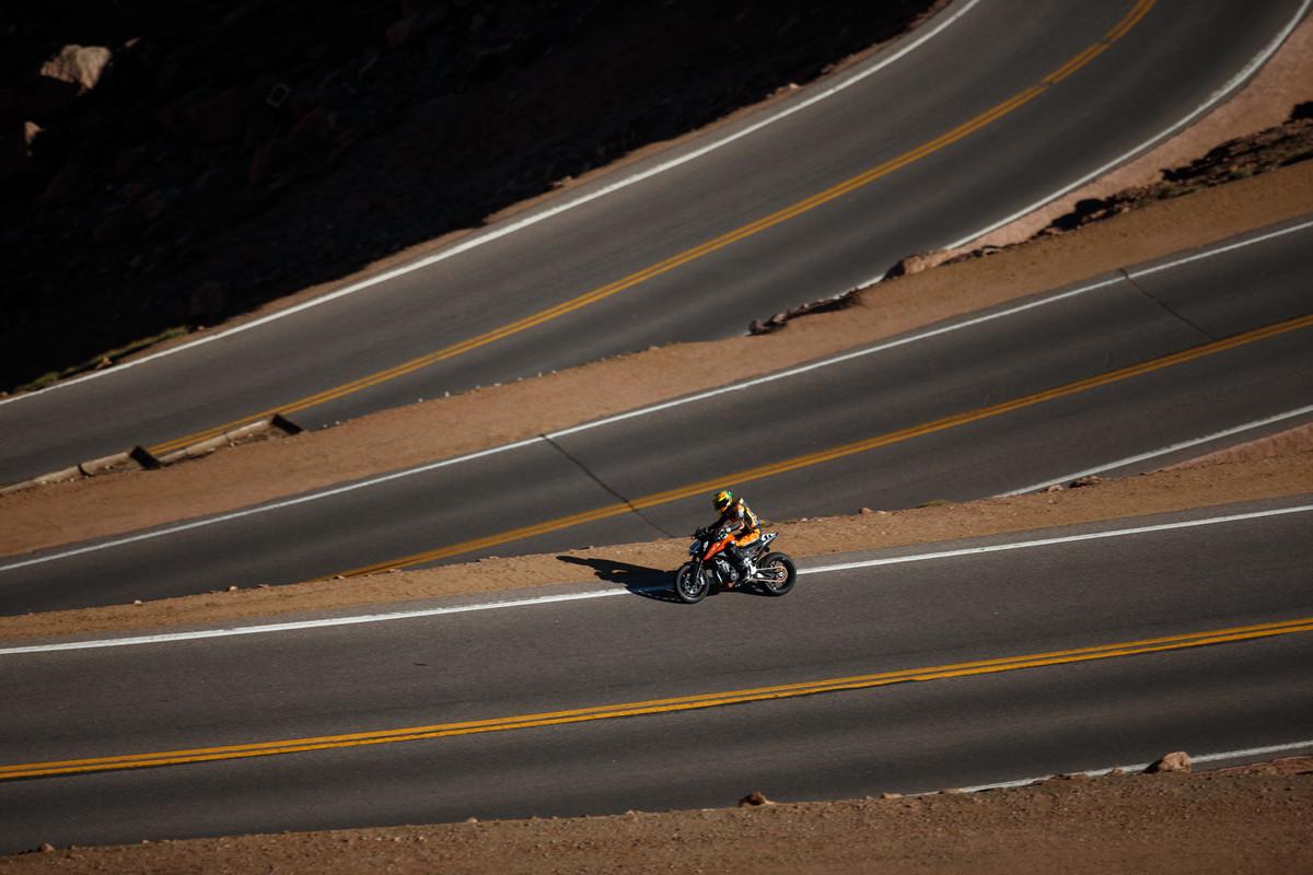 הפייקס פיק בקולורדו - סלול כולו מ-2011
