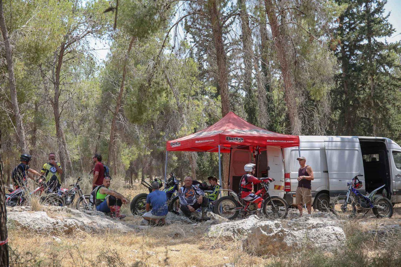 מפגש רוכבי הטריאל ביער קולה