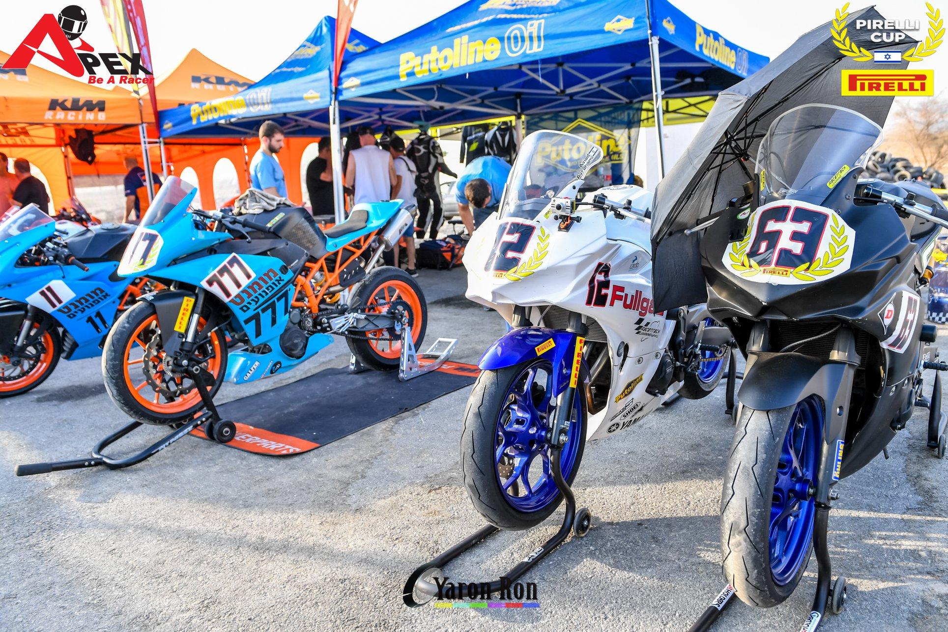 """אופנועי סופרספורט 300 סמ""""ק (צילום: ירון רון)"""