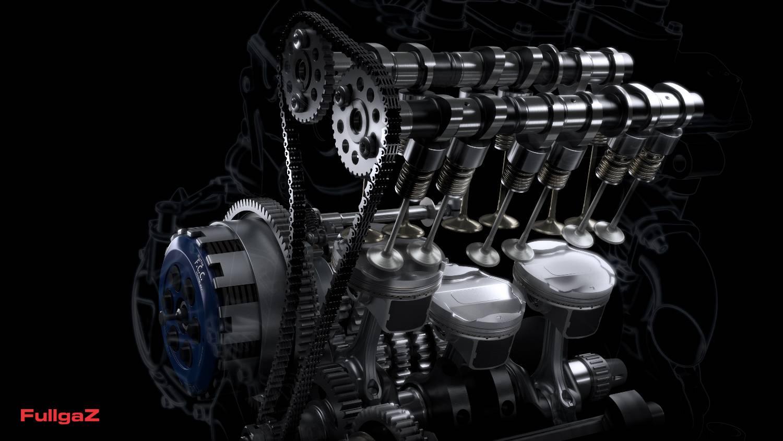 מנוע הטריפל 765