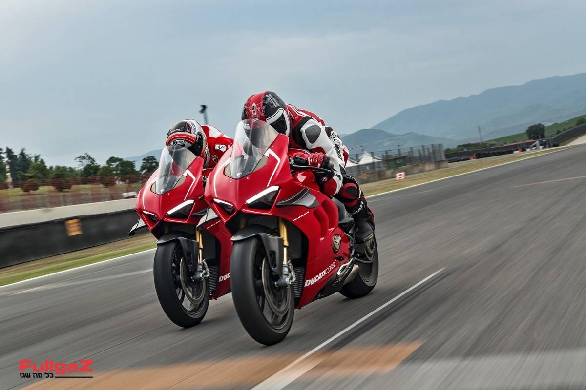 """234 כ""""ס, 193 ק""""ג ואווירודינמיקה של MotoGP"""
