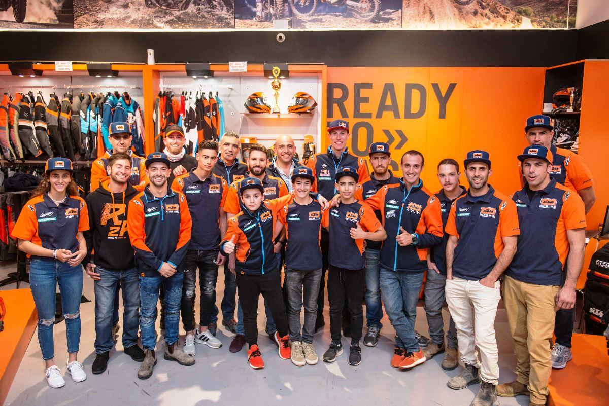 רוכבי קבוצות המרוצים של ק.ט.מ לעונת 2019