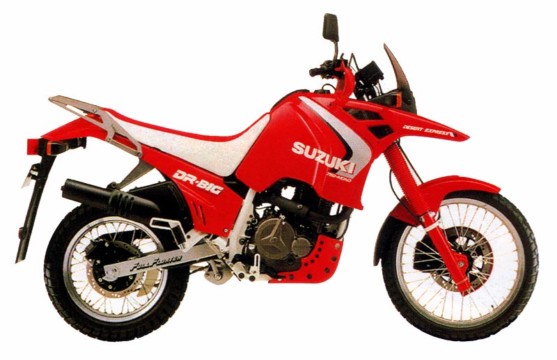 וכאן - הביג 750 של 1988 באדום