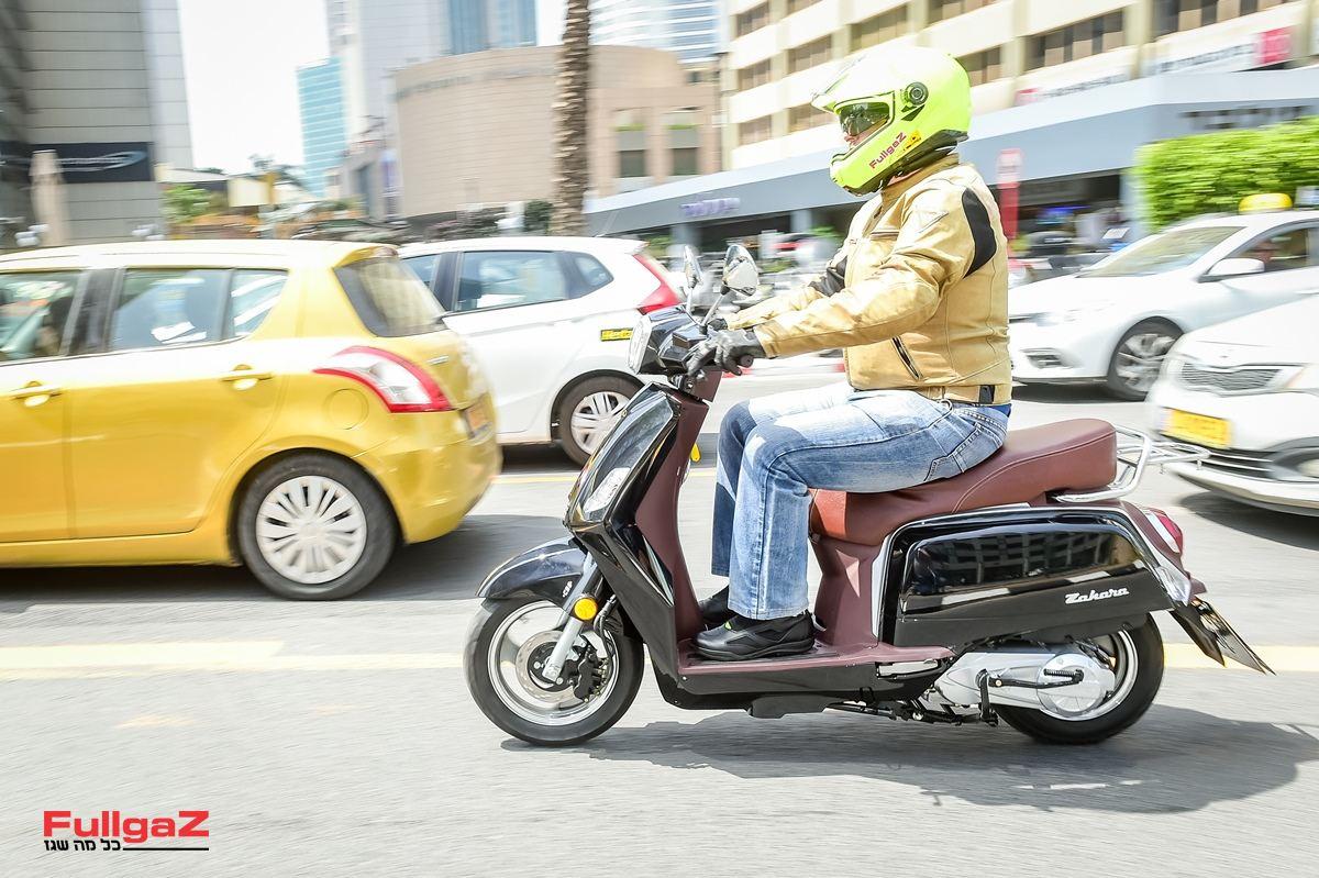 הקטנוע הזול בישראל