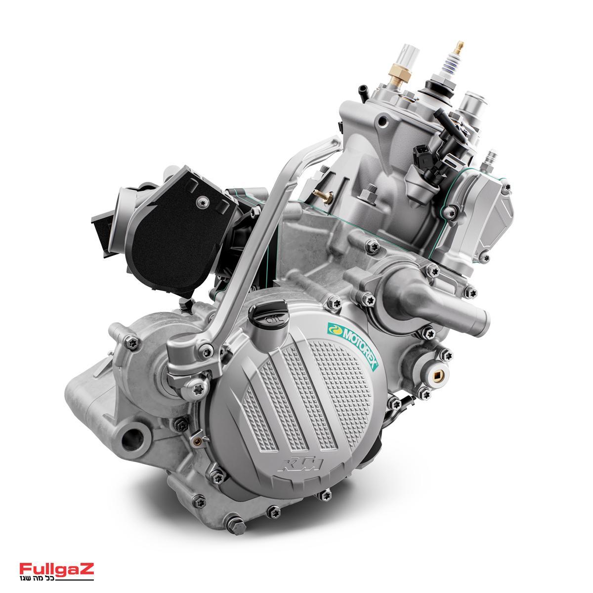 המנוע של ה-150EXC TPI החדש