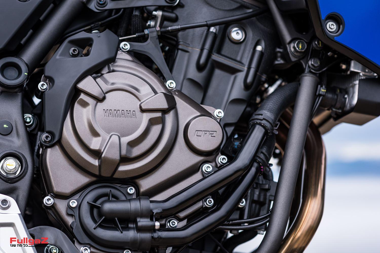מנוע ה-CP2 מגיע מה-MT-07
