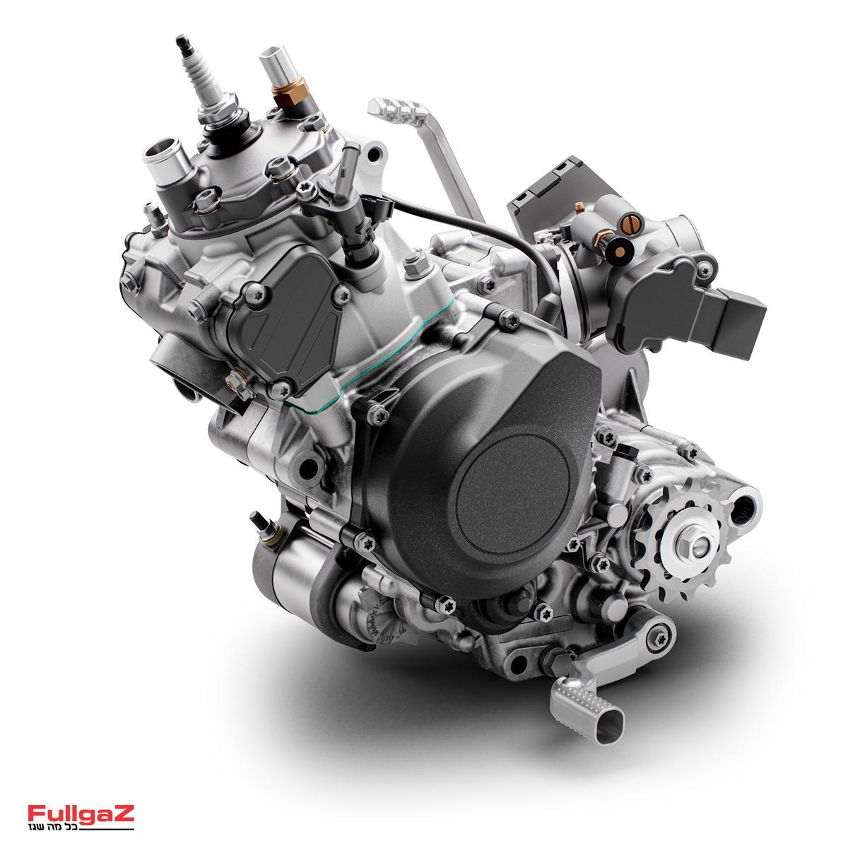מנוע ה-TE150i החדש והמוזרק