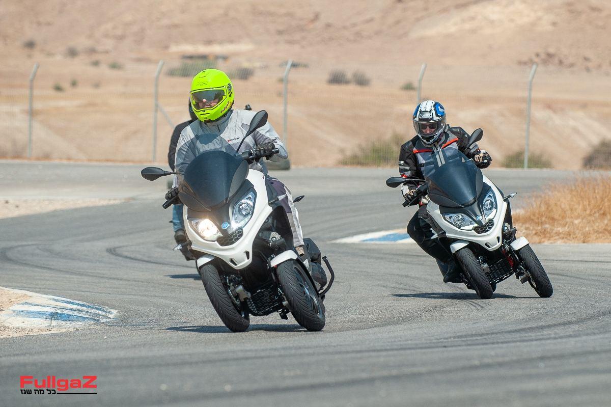 """ביצועי מנוע מקבילים לקטנועי 250 סמ""""ק"""