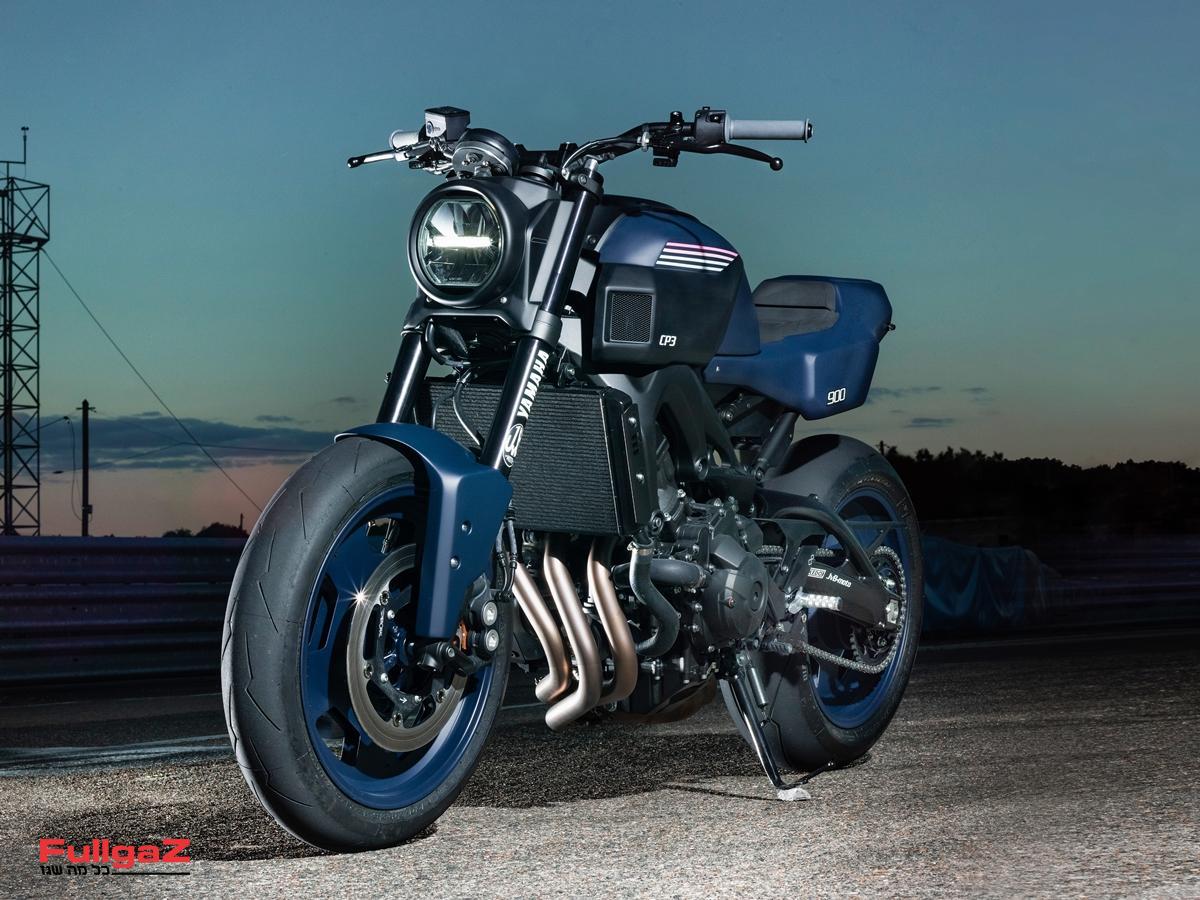 ה-XSR900 CP3 של סדנת JvB-moto הגרמנית