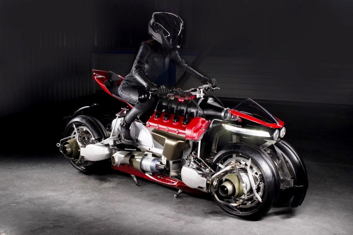 לאזאראת' - האופנוע המעופף