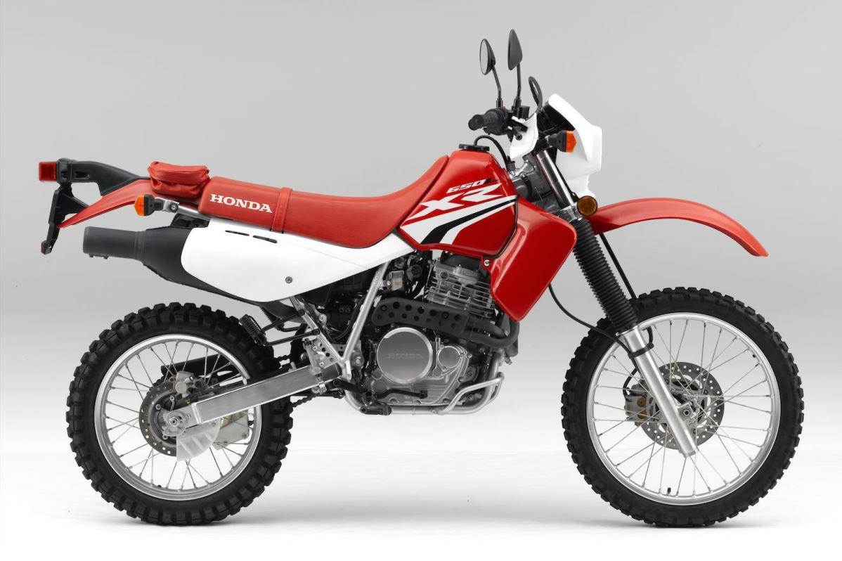 """ה-XR650L גרסת 2020 כפי שנמכר כיום בארה""""ב"""
