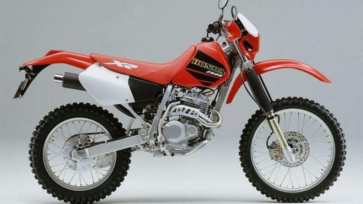 הונדה XR250R דור 2