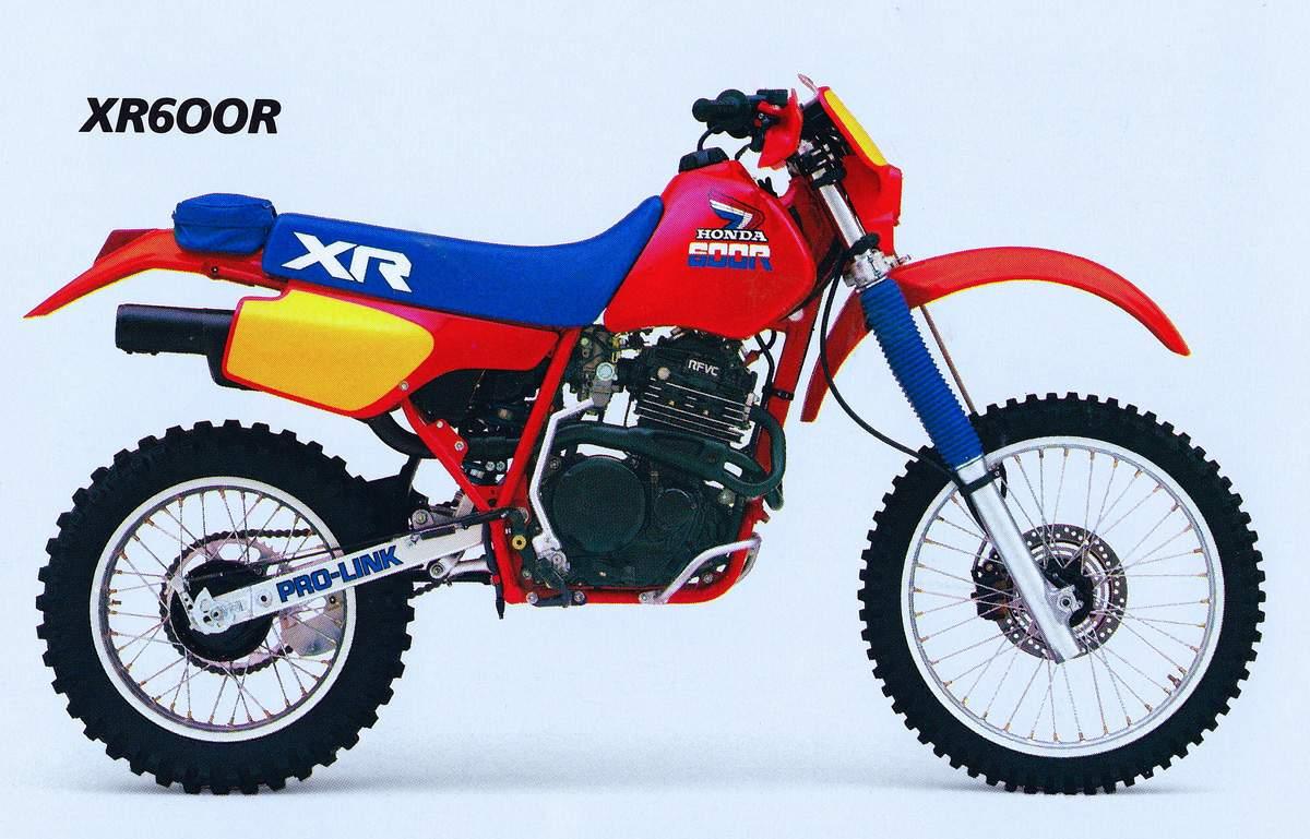 ה-XR600R של שנת 1985