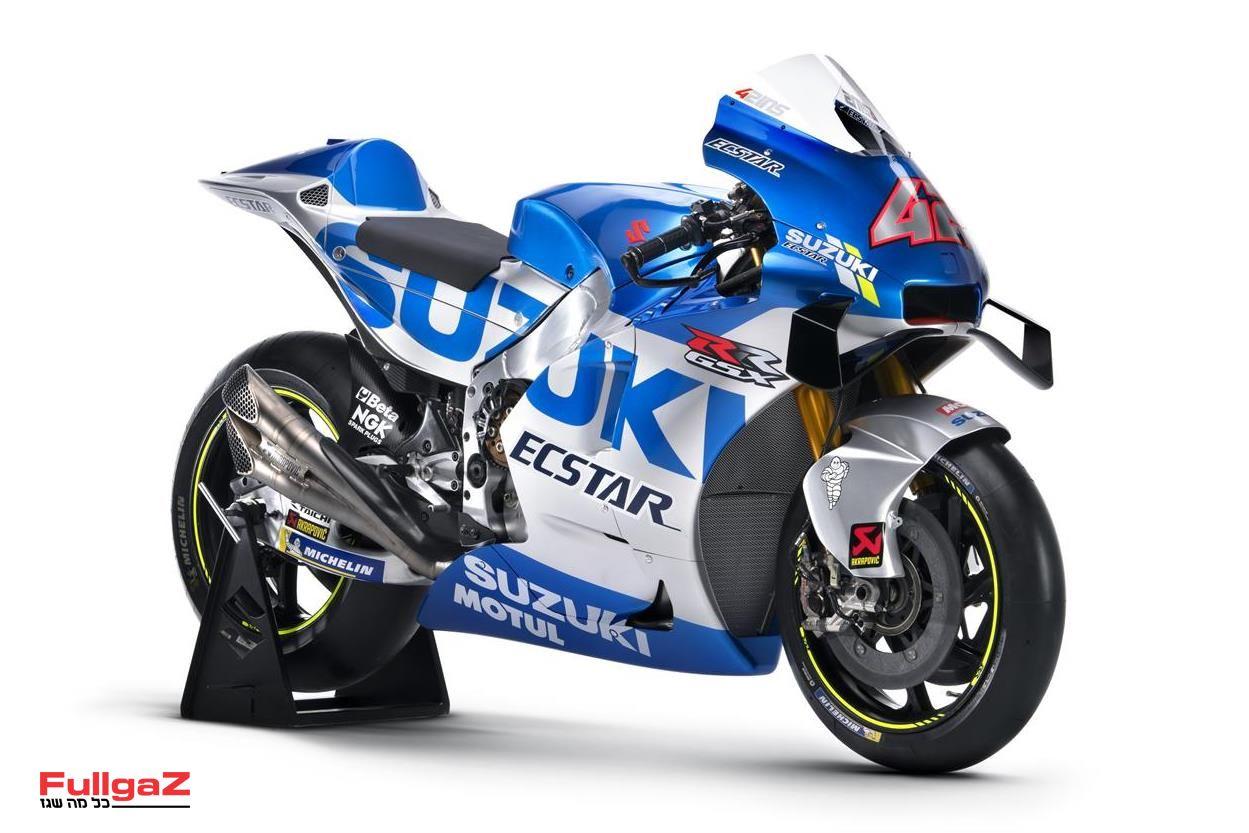 ה-GSX-RR של סוזוקי לעונת 2020 של ה-MotoGP