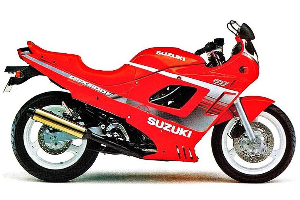 סוזוקי GSX600F