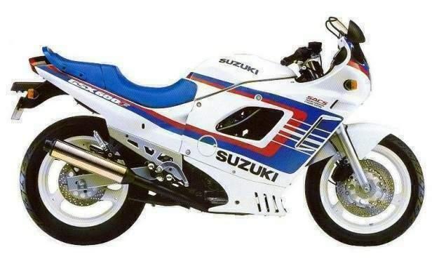 SUZUKI GSX 600 F 88 3