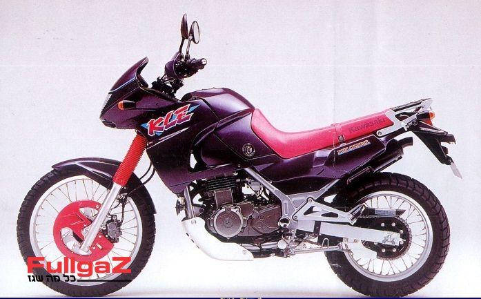 קוואסאקי KLE500 שנת 94 (סגול) - שגם הגיע ארצה