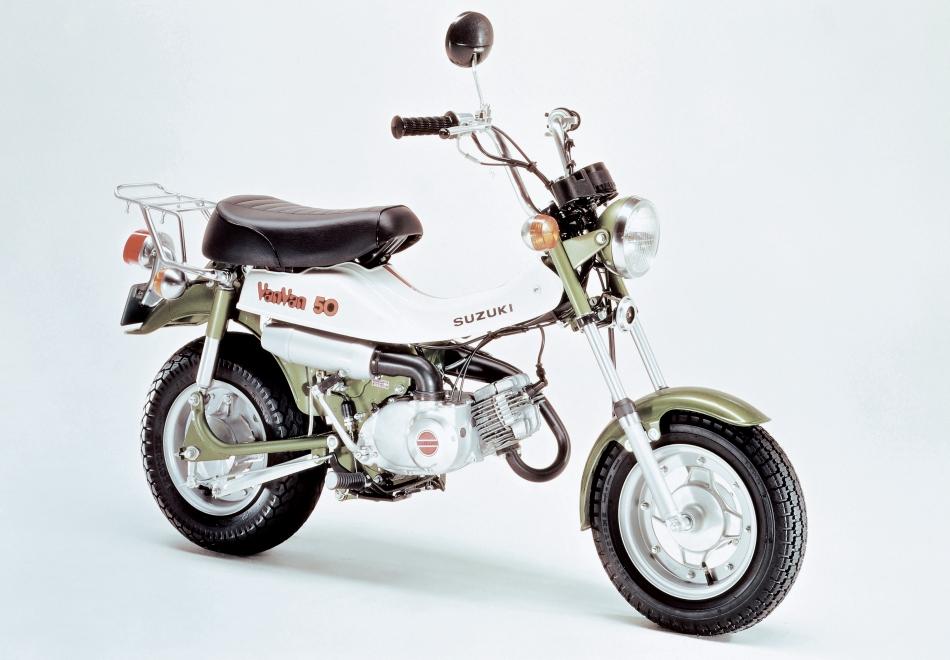 סוזוקי RV50 - המלך של צעירי שנות ה-80