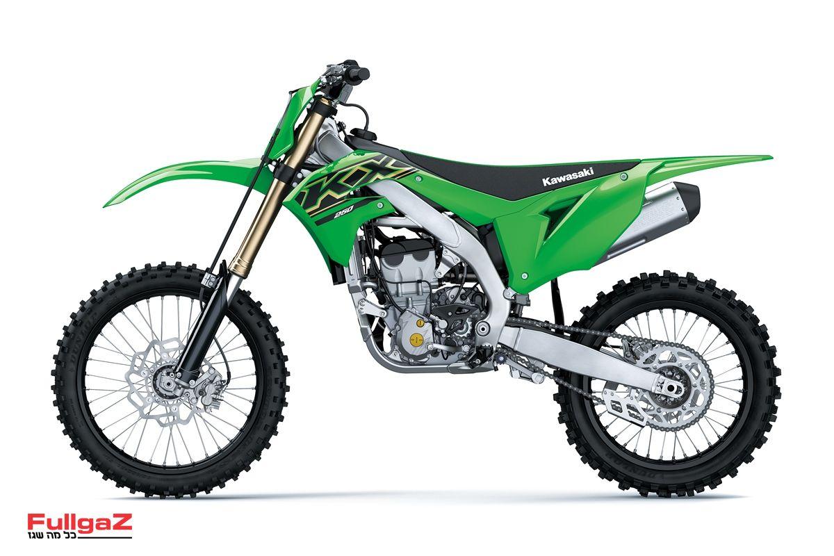 קוואסאקי KX250 דגם 2021