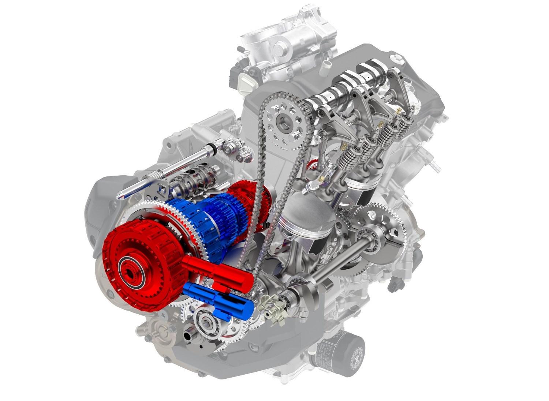 כך נראה ה-DCT בתוך המנוע