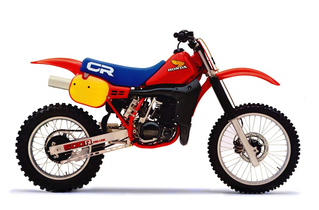 הונדה CR500R דגם 1984