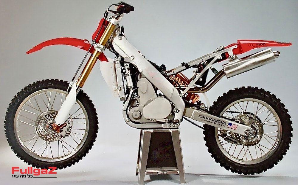 MX400 - טכנולוגיה מתקדמת ואופנוע שהקדים את זמנו