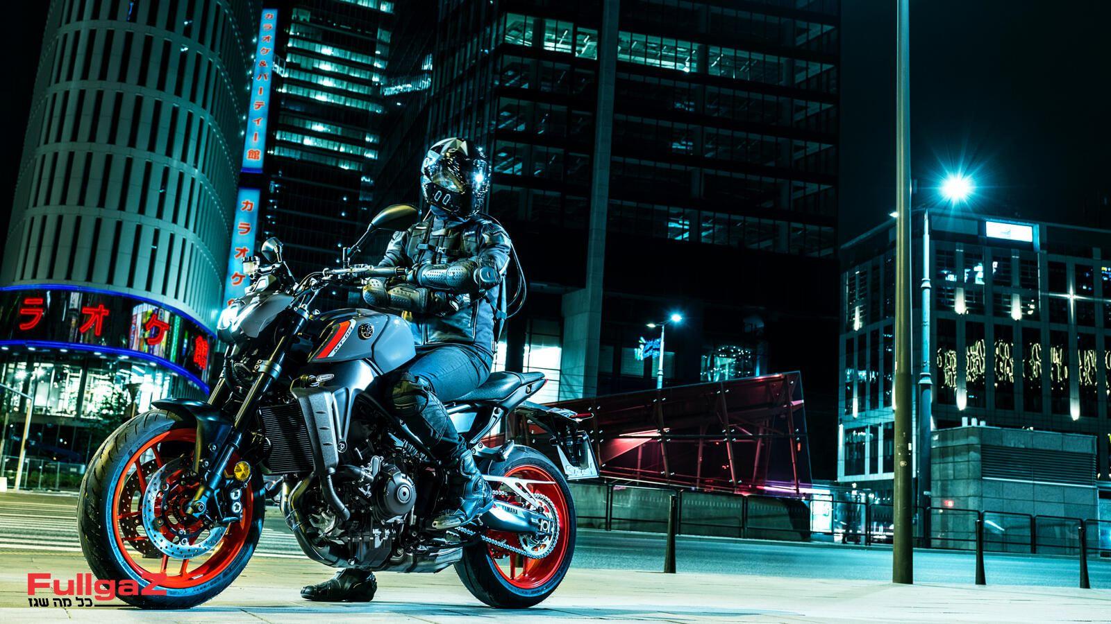 אופנוע חדש לחלוטין בדור השלישי