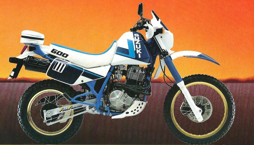 סוזוקי DR600 - האדוונצ'ר של שנות ה-80