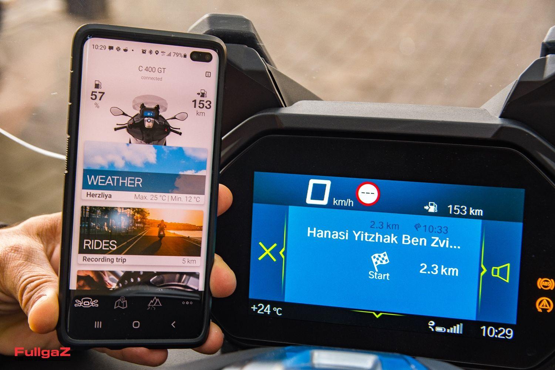 מסך TFT עם אפליקציה ייעודית