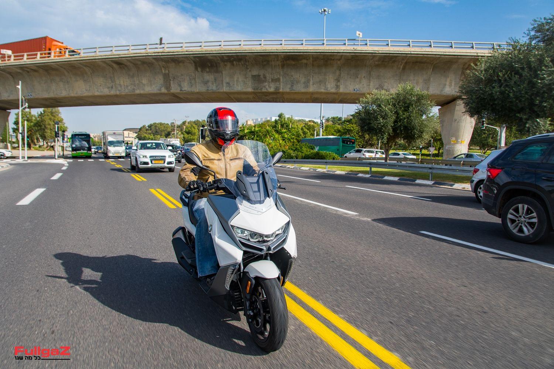 קטנוע רב-שימושי נוח ואיכותי