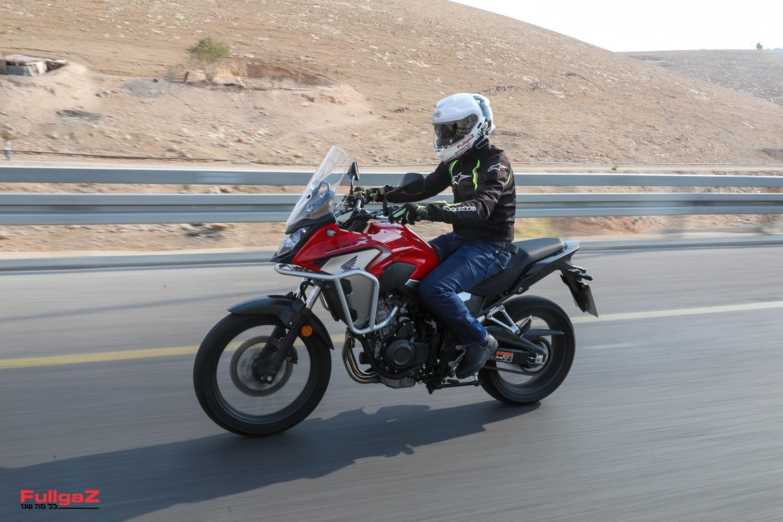 הונדה CB500X - אופנוע הכביש הנמכר בישראל