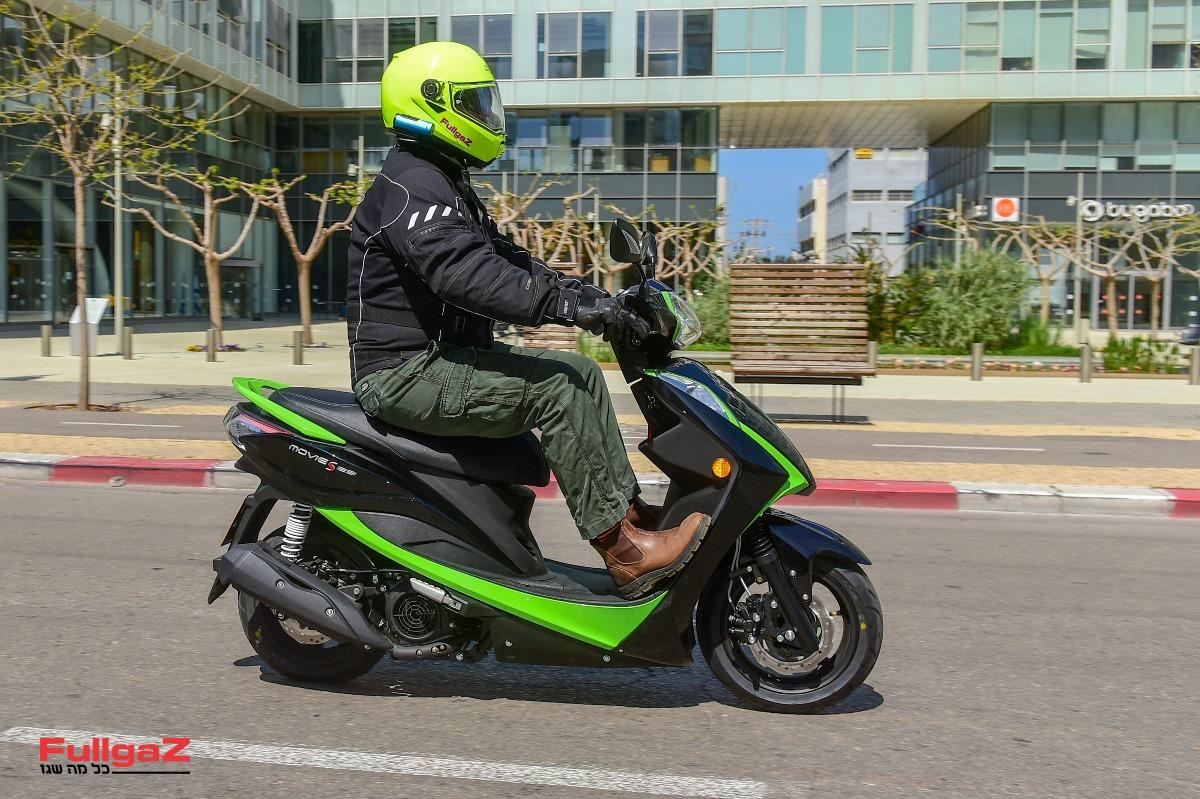 קימקו מובי 125 - הדו-גלגלי הנמכר בישראל ב-2020