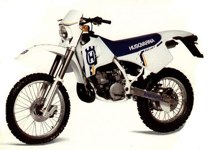 הוסקוורנה WR250 דגם 1990