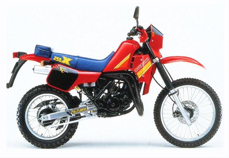 סוזוקי TS250X - כאן דגם 1986