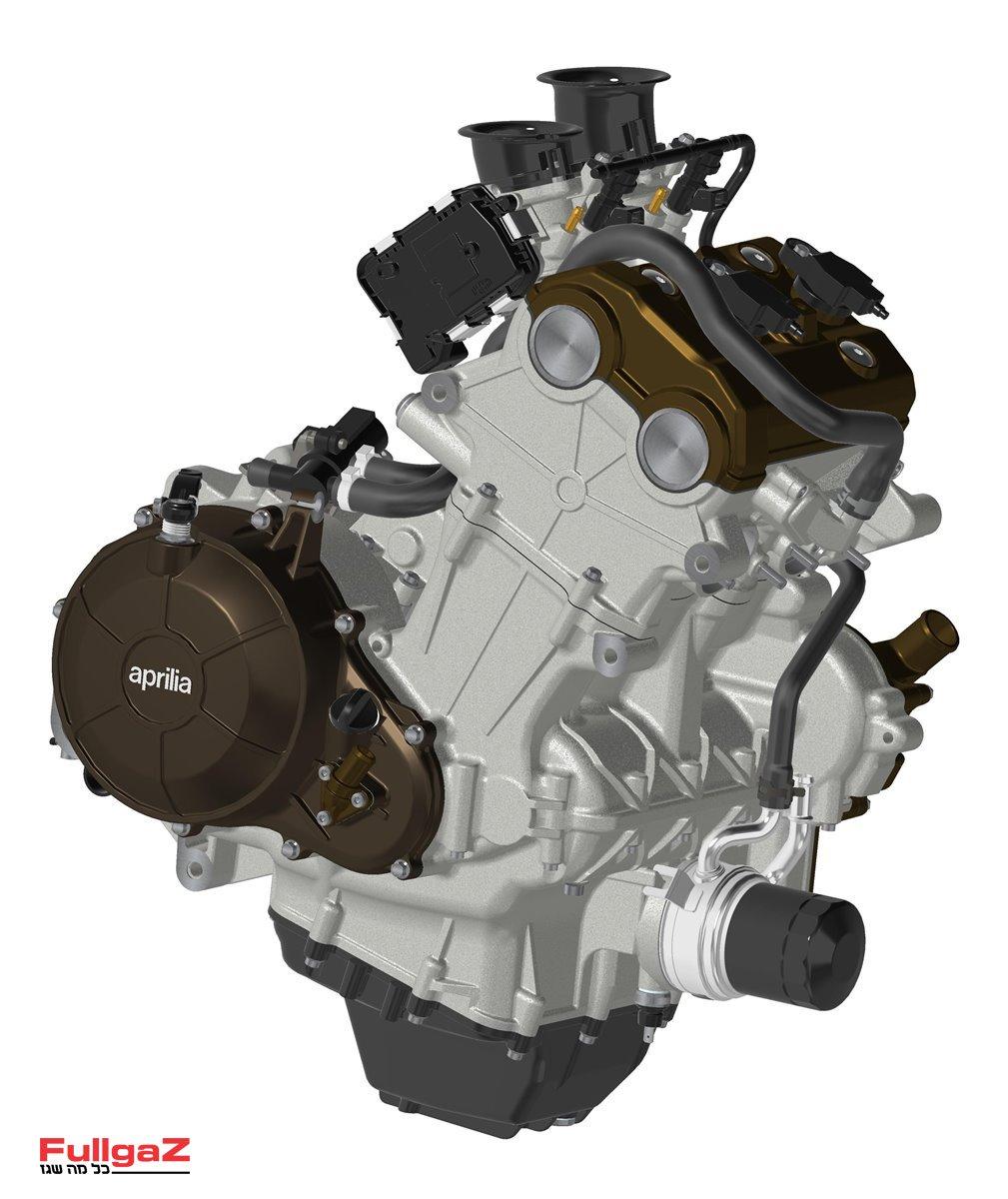 """מנוע הטווין המקבילי 660 סמ""""ק של הטואונו וה-RS660"""
