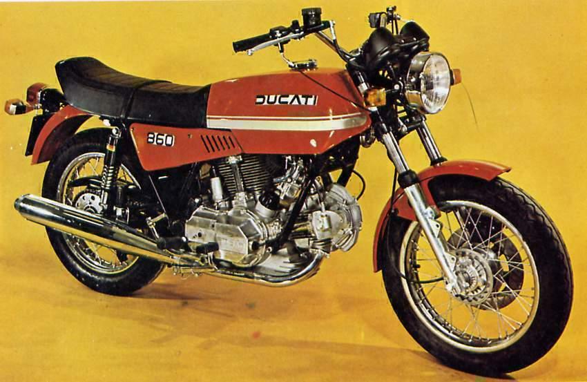 דוקאטי 860GT משנות ה-70