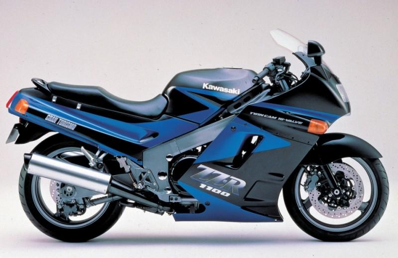 קוואסאקי ZZR1100 - האופנוע המהיר בעולם בייצור סדרתי