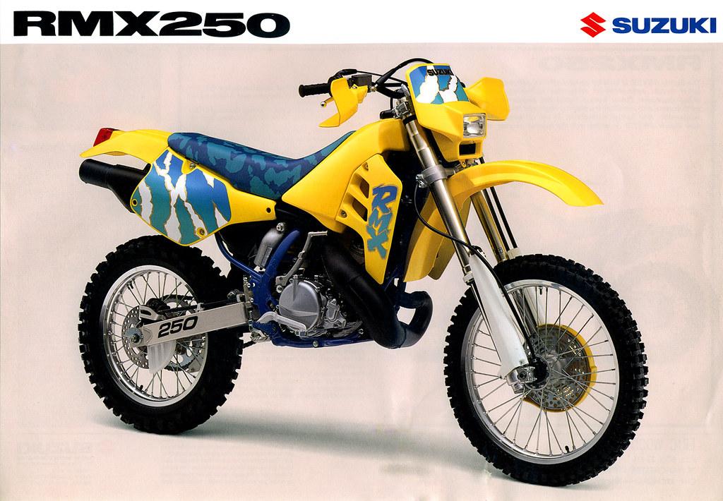 הכרזה המקורית של סוזוקי RMX250